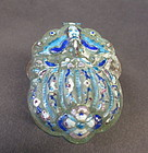 Chinese enameled hinged box