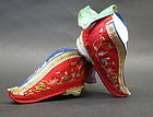 Chinese embroidered bride shoes