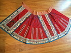 Embroidered Chinese Red skirt