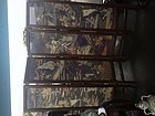 Chinese hard wood and Kesi Tapesty screen panel room divider