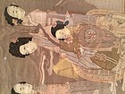 Chinese vertical Kesi_ Woven silk panel