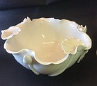 Chinese Dehua glazed porcelain lotus bowl