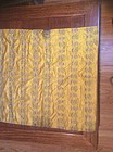 Chinese imperial yellow silk brocade panel