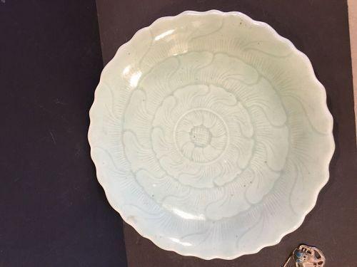 A longquan Celadon plate