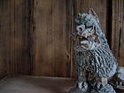 Antique Ryukyu Okinawan Shisa Lion Rooftop Decoration