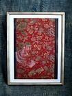 Antique Ryukyu Okinawan Bingata Textile