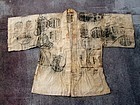 Antique Japanese Hemp Jacket for Shugendo Mountain Priest