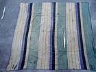 Japanese BORO patched indigo furoshiki wrapping textile 19c