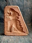 Vintage Japanese Bisque mold of Godzilla 1950-60s