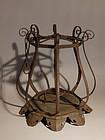 Japanese Iron hanging Toro lantern