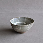 Momoyama Madara Karatsu tea bowl 16-17c