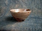 Hagi tea bowl by Saka Koraizaemon IV