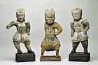 3 divine generals of Yakushi Nyorai Muromachi-Edo period