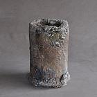 Shigaraki tachizaya saggar of Japanese kiln tool 19c