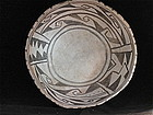 ANASAZI BLACK- ON- WHITE MESA VERDE BOWL