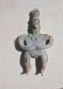 Colima gingerbread figure