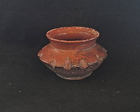 A SMALL ELEGANT MAYA JAR