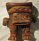 ONE OF THE FINEST NICOYA EFFIGY BOWLS EVER MADE