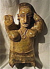 A LARGE KNEELING JALISCO FEMALE FIGURE