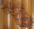 Incredible Carved Bamboo Senko Tsutsu Incense Container