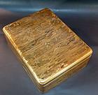 Gorgeous 19th c. Japanese Lacquer Box, Tokaido