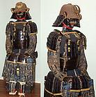 Antique Japanese Armor, signed Myochin Munechika