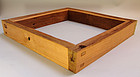 Kozai Tea Room Robuchi Hearth Frame From Zen Temple