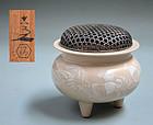 Antique Japanese Koro by Kiyomizu Rokubei V