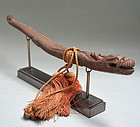 Antique Japanese Bokuto Dragon Shaped Doctors Sword