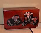 Lacquer Cabinet, Magnolia by Izumi Atsuhiko, 1950s Art