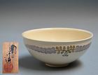 Fuji-Moyo Tenmoku Chawan Tea Bowl by Ito Tozan I