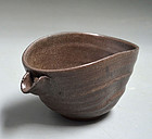 Antique Japanese Karatsu Chawan Tea Bowl