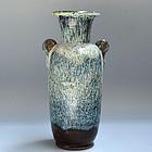 Antique Japanese Mingei Karatsu Mimitsuki Vase