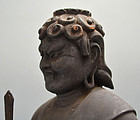 Edo period Fudomyo Buddhist Sculpture