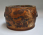 Momoyama Period Drum hibachi