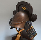 Edo p. Japanese  �Foreign� Kawari Kabuto Samurai Helmet