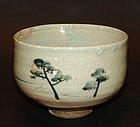 Chawan Tea Bowl by Suwa Sozan II and Uemura Shoen