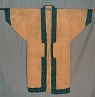 Exceptional Japanese Ainu Kimono, 19th century