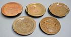 Momoyama period Japanese Kintsugi Plate Set