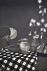 """Early Spring"", Mezzotint by Olivia Munroe, American Artist in Japan"