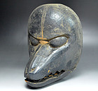 Antique Japanese Fox Mask Mold For Shrine Dance Masks