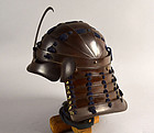 Rare Collapsable Edo period Kabuto Samurai Helmet (not chochin style)