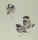 FINE Japanese SHIJO SCROLL, TAKEUCHI SEIHO