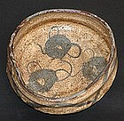 Edo period Japanese Shino Chawan Tea Bowl