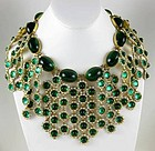 Spectacular William Delillo Museum Quality Bib Necklace