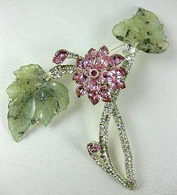 Spectacular Robert Sorrell Tremblant Flower PIn