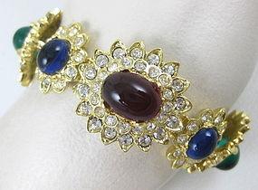 Iconic Jackie O Kenneth Jay Lane Bracelet