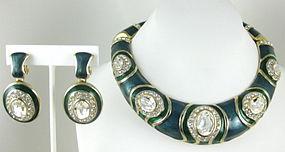 Landau Necklace & Earrings from the Dallas TV Series