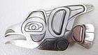 Pacific Coast Elsie Nelson Haida Raven Pin