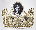 Magnificent Sterling Josephine Bonaparte Crown Replica